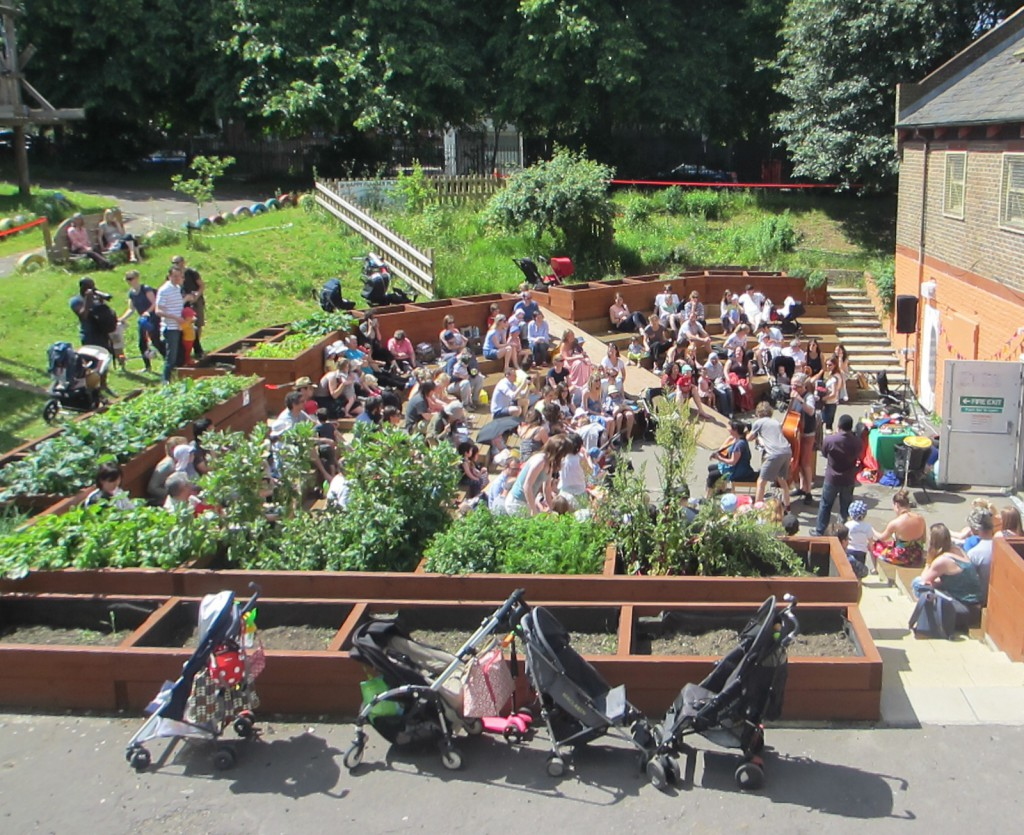 Harriette and the Singalong Band returns to the Adventure Playground
